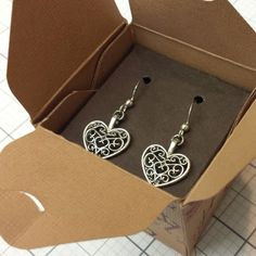 How to Make an Earring and Gift Box Set #clubscrap #giftboxpunchboard #WeR