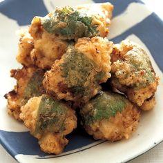 食欲そそる梅風味! 酸味がうれしい「青じそ梅から揚げ」 Cauliflower, Dishes, Meat, Chicken, Vegetables, Cooking, Recipes, Food, Yahoo