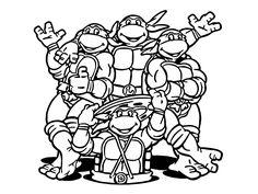 ninja turtles bilder zum ausmalen | ausmalbilder ninja turtles | ausmalbilder schildkröte, ninja