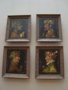 """The Whimsical """"Composite Heads"""" of Painter Giuseppe Arcimboldo Giuseppe Arcimboldo, Louvre Paris, Portraits, Ap Art, Large Canvas, 16th Century, Four Seasons, Lovers Art, Les Oeuvres"""