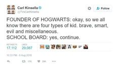 The traits for the houses may have gotten a bit vague over time. | 21 Funny Harry Potter Tumblr Posts To Make You Feel Better