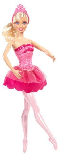 Barbie in The Pink Shoes Ballerina Doll, Pink Dress Barbie http://www.amazon.com/dp/B00A6SORYQ/ref=cm_sw_r_pi_dp_22Ncwb1BMMPFT