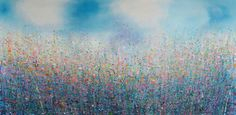 "Saatchi+Art+Artist+Sandy+Dooley;+Painting,+""The+Thought+of+Spring""+#art"