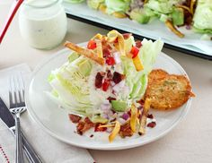 Tex-Mex Wedge Salad - Evil Shenanigans