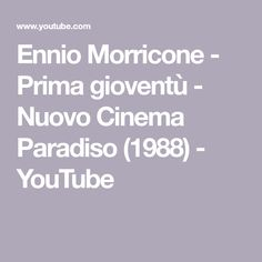 EnnioMorricone – (Re)Discover his Greatest Hits - EnnioMorricone is your channel for some of the best Original motion picture soundtracks. Greatest Hits, Music Publishing, Music Songs, Finding Yourself, Youtube, Musica, Youtube Movies