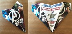 Custom Avengers Themed Paper Airplane Invitation -Personalize Verbiage & More! Great for Superhero Themed Birthdays, Showers, Weddings, Etc!