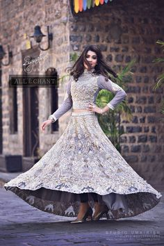 Latest Pakistani Dresses and Frocks 2016 for Wedding Parties   BestStylo.com