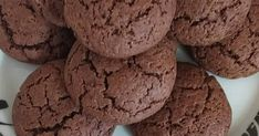Cake Mix Cookie Recipes, Cake Mix Cookies, Biscuits, Chocolate, Sweet, Desserts, Food, Crack Crackers, Candy