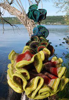 hyperbolic crochet: Hyperbolic Guitar and some new photos