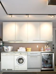 7 diy ideas for a laundry nook in the garage and 3 things i wouldn 39 t repeat pinterest diy. Black Bedroom Furniture Sets. Home Design Ideas