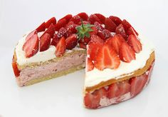 Strawberry Mousse Cake, Confectionery, Pixie, Food To Make, Cake Recipes, Cheesecake, Wordpress, Make It Yourself, Cakes