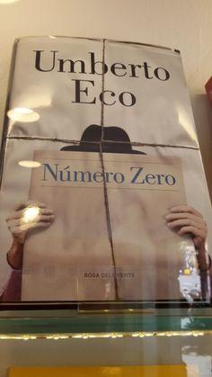"""""""Numero Zero"""" d'Umberto Eco. Rosa dels Vents"""
