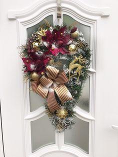 Weihnachtsdeko Amerikanisch weihnachtsdeko für den kaminsims girlande aus stoff und