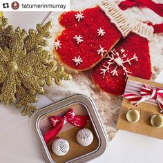 So much holiday goodness in this post! thank you @tatumerinmurray   #Repost @tatumerinmurray with @repostapp  The gifts for my friends and family are piling up under my little 4-foot tree I'm always looking for ethically made pieces and gifts that give back so these @everything_enamour earrings were a perfect find! AND they're gorgeous