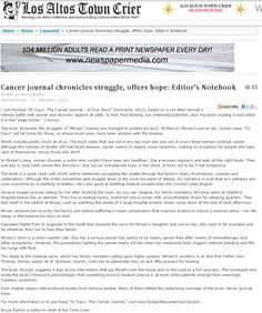 Cancer Journal, Summary, True Stories, Editor, Love Her, First Love, Content, Motivation, Reading