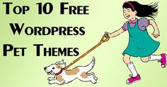Top 10 Professional and Free Pet Themes For WordPress