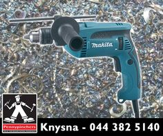 Feeling in a DIY mood this weekend? Get down to #Pennypinchers #Knysna for incredible deals on selected tools, like the #Makita Impact Drill 680W for only R1095! Offer valid until 14 March 2015, while stocks last, E&OE. #backtosite