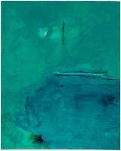 Helen Frankenthaler - Contentment Island, 2004. screenprint 37″ x 30 1/2″