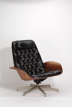 "maxenrich: Georg Muhlhauser, ""Mr. Chair"" Lounge Chair, 1955"