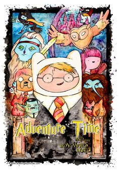 Pra inspirar: 20 ilustrações de Adventure Time Adventure Time Finn Mertens The Human Jake The Dog Princess Bubblegum Bonnibel Bonnie PB Marceline Abadeer Marcy Vampire Queen Cosmic Owl Hunson Abadeer Billy Harry Potter Marceline, Gumball, Harry Potter Crossover, Jake The Dogs, Cartoon Crossovers, Adventure Time Art, Cartoon Shows, Cartoon Cartoon, Cool Cartoons