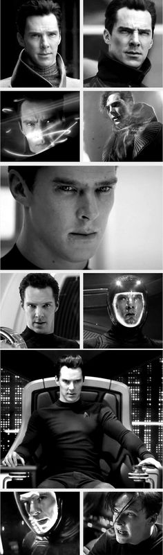 Benedict Cumberbatch as Khan - Star Trek Into Darkness