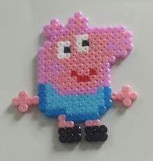 Pepa Pig fuse bead