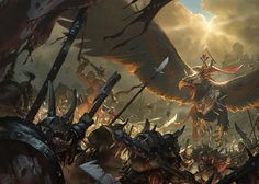 Total War: Warhammer, Slawomir Maniak on ArtStation at https://www.artstation.com/artwork/aa36q