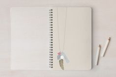 Charmed Day Planner, Notebook, or Address Book by Wendy McClure at minted.com