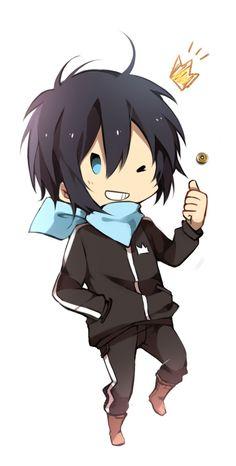 Noragami-Yato the God Manga Anime, Anime Chibi, Anime Guys, Anime Art, God Of War, Yukine Noragami, Otaku, Chibi Kawaii, Yatori