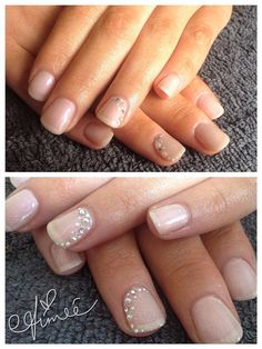 IBD Just Gel | Perfect pearl nude gels | Cashmere Blush with Sheek White dots | #ibd #ibdjustgel #gels #gelnails #nails #nailart #manicure #gelpolish #justgels #justgel #gelpolish #mobilebeauty #beautybyaimee #gelish #gelishharmony #gelishnails