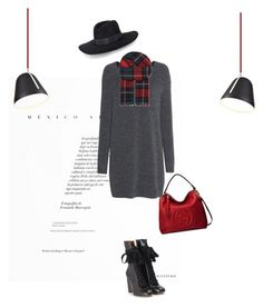 """In love with the handbag.. Ah and the boots .."" by vervetandhowler ❤ liked on Polyvore featuring Gucci, Fine Collection, Chloé, Nyta, Rebecca Minkoff, Johnstons, handbag, gucci, greydress and fashionfinds"
