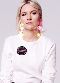 PARADISE badge by Marc Jacobs
