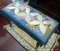 Moda Bake Shop: A Very Morris Piano Runner--could be made longer and would be pretty as a table runner!
