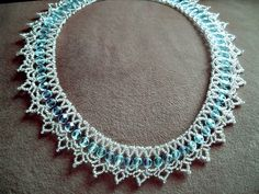 Free pattern for necklace Tears In Rain