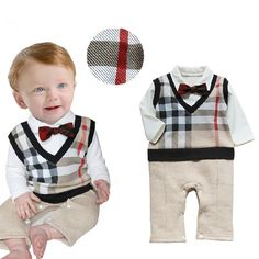 baby boy clothes gentleman with bow knot newborn baby clothes baby clothing-in Clothing Sets from Mother & Kids on Aliexpress.com | Alibaba Group