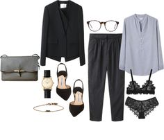 """Blue Monday"" by bloesem ❤ liked on Polyvore"