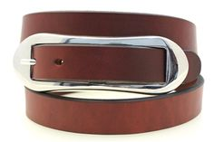 Chestnut American made dress or casual belt