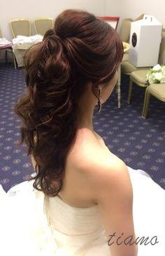 Vera Wangから白無垢♡可愛い花嫁さまの幸せホテルウエディング |大人可愛いブライダルヘアメイク『tiamo』の結婚カタログ