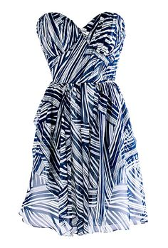 Ivy & Aster    -  My Maid of Honor? kind of pricey but Oh So good.  $350 A twist on traditional stripes.