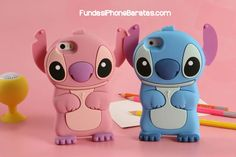 Soft silicone Phone Case for iPhone X 8 7 Cartoon Stitch Lilo Cover for iPhone 6 Plus 5 SE Protective shell Iphone 6 S Plus, Funda Iphone 6 Plus, Skins For Iphone 6, Coque Iphone, Iphone 4, Iphone Cases, Cute Phone Cases, 5s Cases, Lilo Ve Stitch