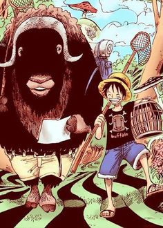 Ucy and Luffy