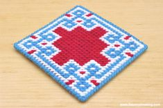 2d5af49199d Review  Self-Finishing Needlepoint Coaster Kits from Jenny Henry Designs