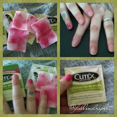 @cutexus @influenster #SoCutex #HealthyNails #contest #cutex #cutexus #voxbox #influenster #glamvoxbox #nailpolish #nailpolishremover  I received the Cutex Advanced Revival Nail Polish Remover Pads complimentary for testing purposes.