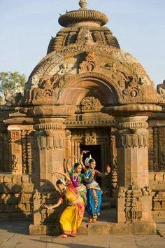 Temple -- Bhubaneswar Orissa, India