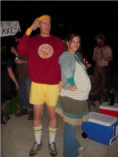 Juno Pregnant Couple's Halloween Costume
