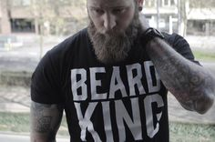 Beard care and grooming products for the royal man. Shop for the Beard Bib, shirts, hats and beard kits from BEARD KING™. Fear the Beard, Not the Mess™ Beard King, Beard Grooming Kits, Beard Care, Beards, Gift Boyfriend, Husband, Gift Ideas, T Shirts For Women