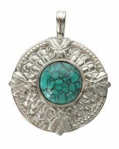Bee Button Turquoise Enhancer by Slane Jewelry at Neiman Marcus Last Call.