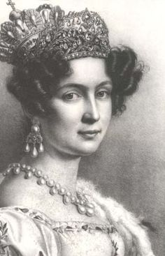 HM Queen Therese of Bavaria (1792-1854) nee Princess Therese of Saxe-Hildburghausen