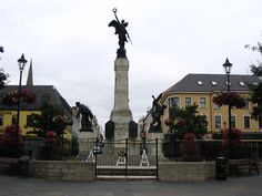 Derry World War II Monument   By RG Bud Phelps