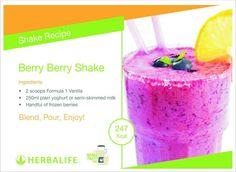 Berry Berry Shake